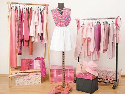 Розовое платье оживит чувства