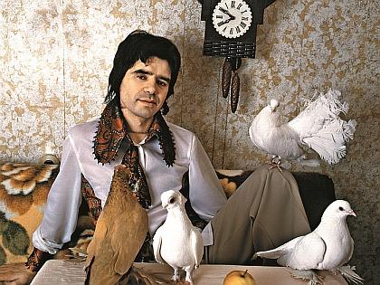 Евгений Осин и голуби