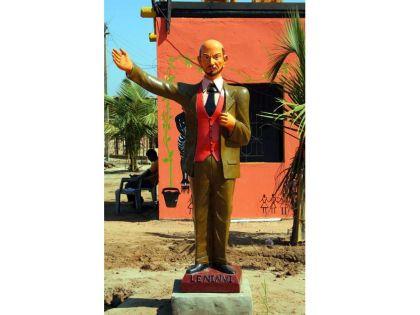 Деревянный Ленин