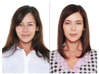 Наша героиня Елена – до и после