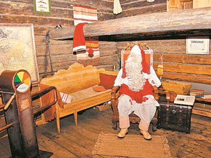 Финский Дед Мороз будет работать в Сортавале в новогодние праздники