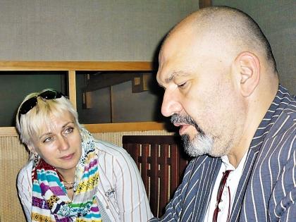 Светлана Румянцева и Геннадий Венгеров