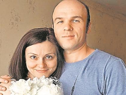 Алексей Алешин с женой Светланой