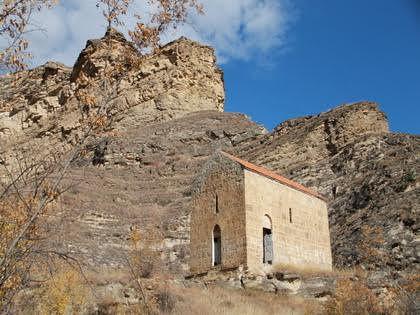 Средневековый православный храм Датуна
