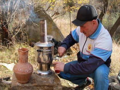 Чай – главный напиток дагестанцев