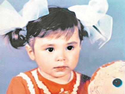 Сати Казанова в детстве