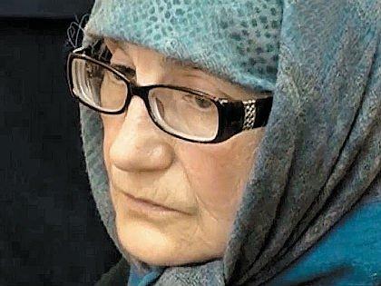 Любимова не похожа на убитую горем мать