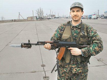 В Крыму Панчуку выдали автомат