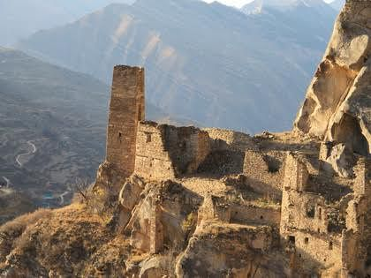 В средние века здесь был один из крупных аулов Кавказа