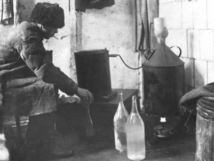 Производство самогона в Советское время