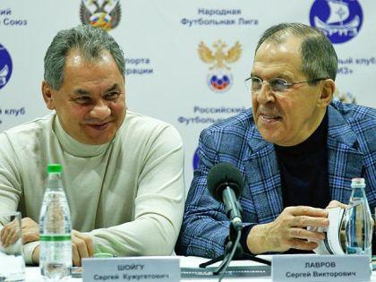 Сергей Шойгу и Сергев Лавров
