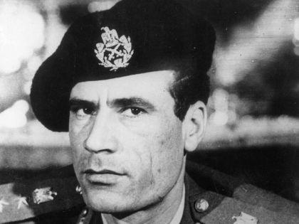 Каддафи на заре своего правления