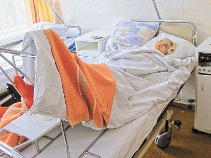 Екатерина Космальская в больнице