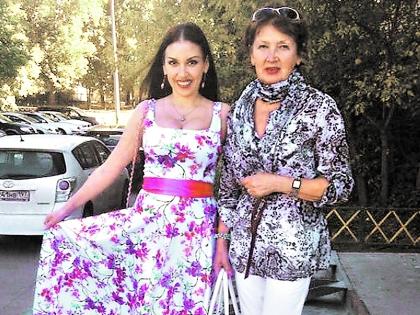 Татьяна Найник с мамой