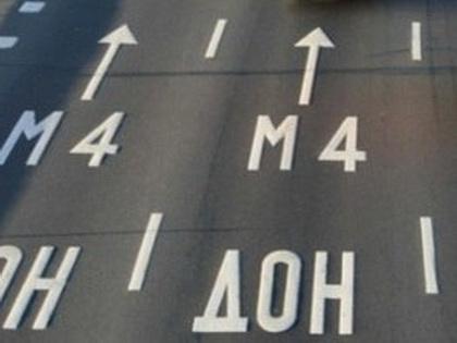 Движение на участке трассы в Венёвском районе затруднено