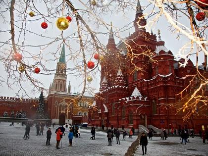 К Рождеству в Россию вернутся морозы