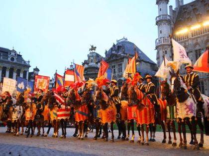 Праздничное шествие Оммнеганг