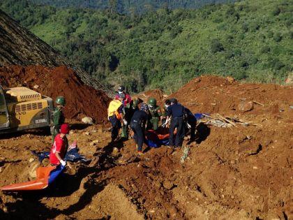 ЧП на севере Мьянмы
