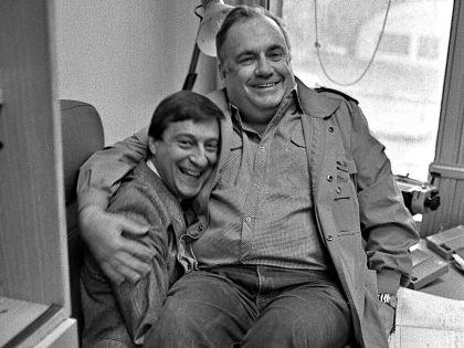 Геннадий Хазанов и Эльдар Рязанов