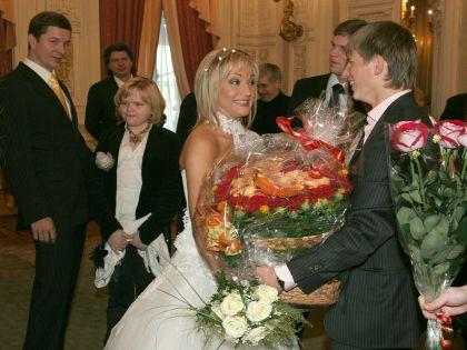 Свадьба Булановой и Радимова