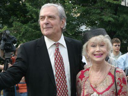 Немоляева с мужем Александром Лазаревым