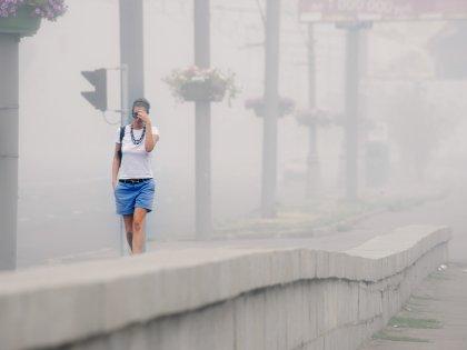 В 2010 году едкий туман мучил москвичей и жителей Подмосковья почти 2 месяца