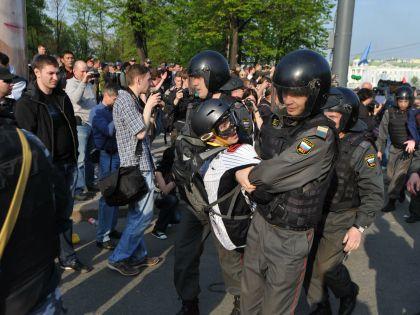 Ильдар Дадин участвовал в митингах на Болотной площади