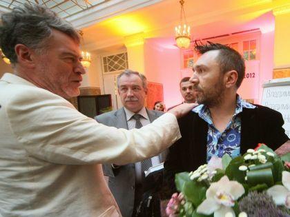 Артемий Троицкий и Сергей Шнуров