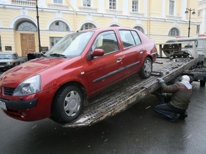 Эвакуация автомобиля в Москве