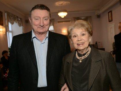 Лариса Латынина с мужем