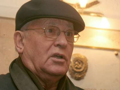 Горбачев поддержал присоединение Крыма к России