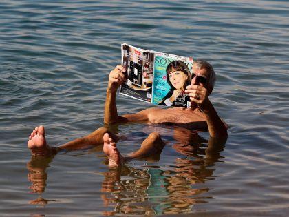 Израиль полюбился многим туристам благодаря Мертвому морю