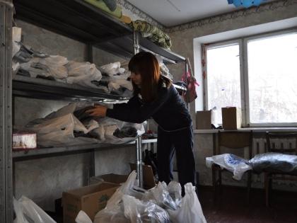 Гумпомощь украинским беженцам
