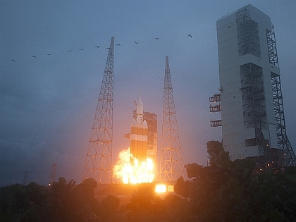 Крушение неизвестной ракеты