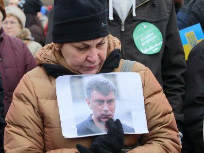 Марш памяти Немцова в Санкт-Петербурге, 2015 г.