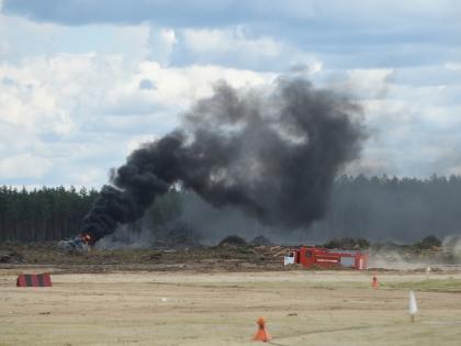 Один из пилотов вертолета погиб под Рязанью