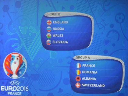 Соперники России – Англия, Уэльс и Словакия