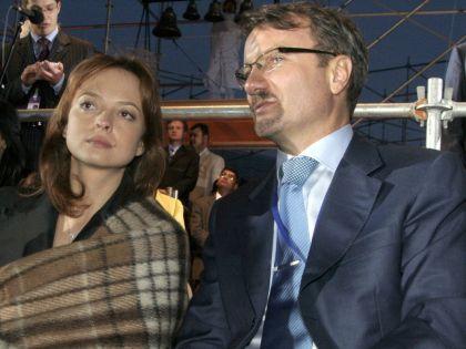 Герман Греф с женой
