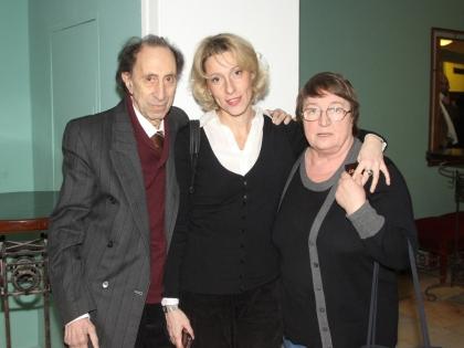 Илья Рутберг с женой Ириной и дочерью Юлией