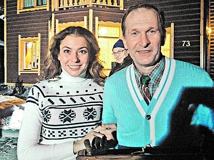 Инна Королева и Федор Добронравов