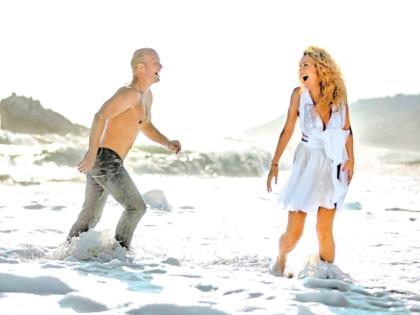 Съемки клипа на песню «От слова «лето»