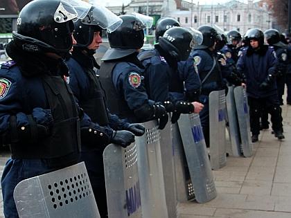 Украинская милиция