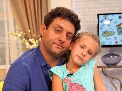Михаил Полицеймако с дочерью