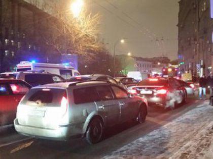 На месте убийства в Москве нет движения авто и пешеходов