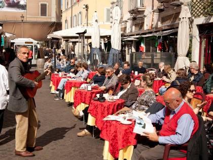 Итальянские уличные кафе