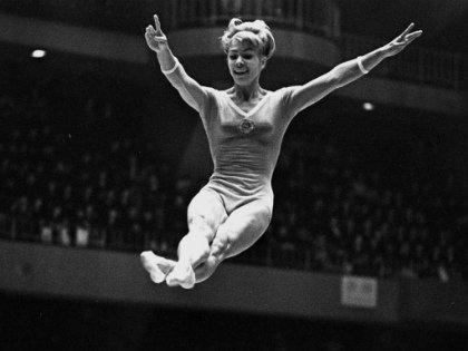 В 1957 году Лариса Латынина выиграла все золотые медали на чемпионате Европы
