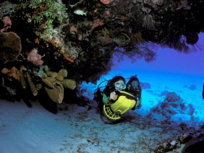 Риф в Мексике