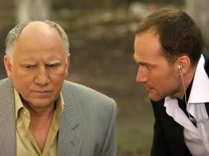 Егор Баринов с отцом