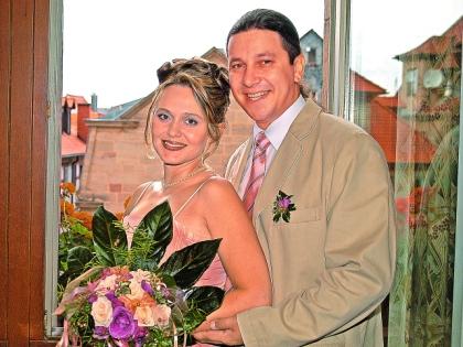 Сергей Дубровин со второй женой