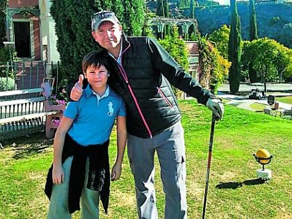 Сергей Кристовский с сыном